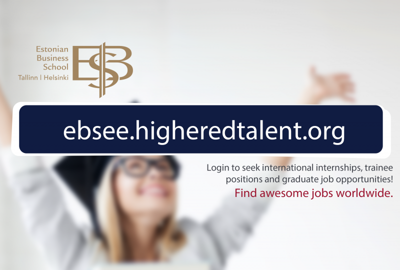 EBS Highered Talent esileht